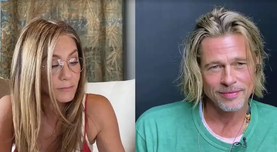 À nouveau réunis, Jennifer Aniston et Brad Pitt font le buzz lors d'une table de lecture virtuelle