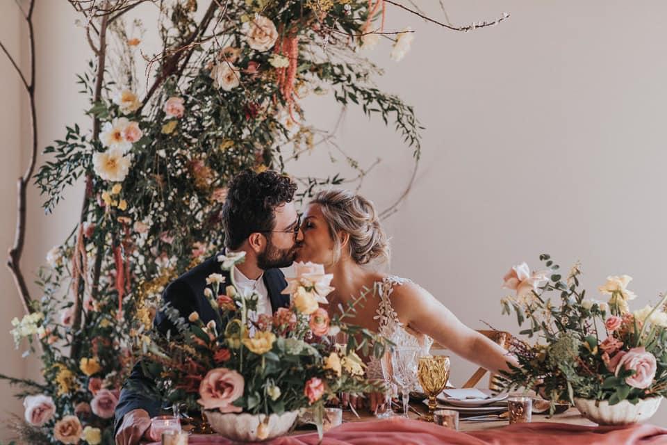Ingrid Falaise et son mari renouvellent leurs voeux de mariage