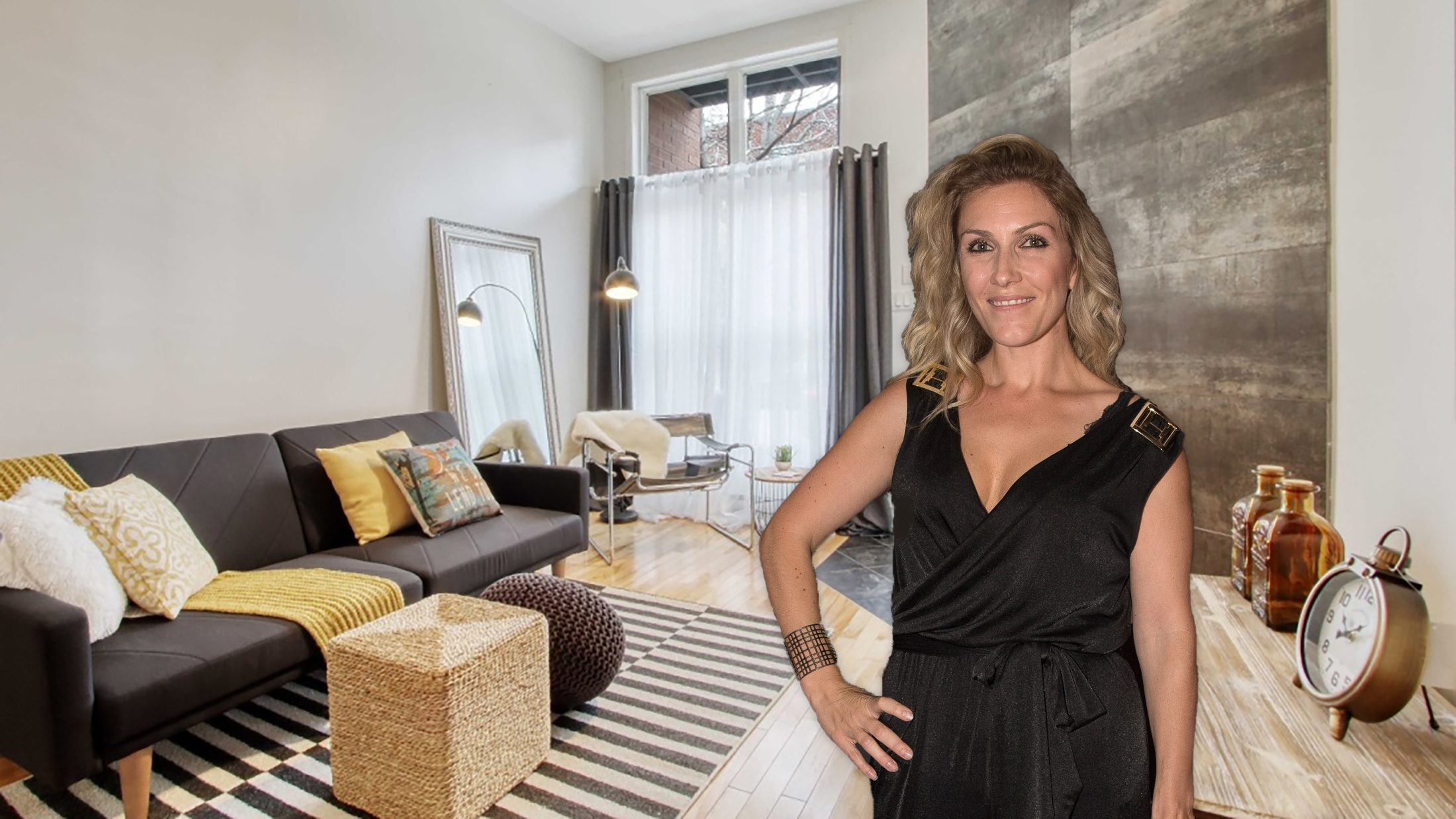 Ingrid Falaise vend son sublime condo à Ville-Marie [PHOTOS]