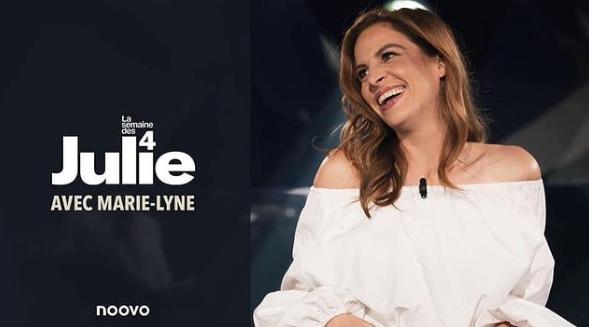 Marie-Lyne Joncas remplacera Julie Snyder à La semaine des 4 Julie